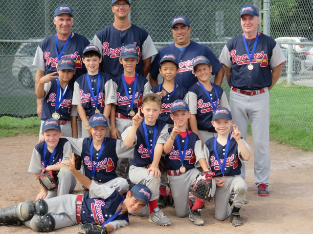 Atom A The Blue Braves Regionals Bronze Medalist