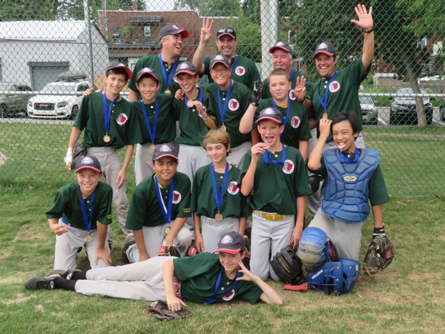 Pee Wee B Athletics Regionals Bronze Medalist