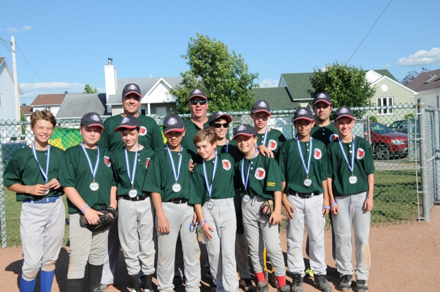 Pee Wee B Athletics Silver Medalist Mercier
