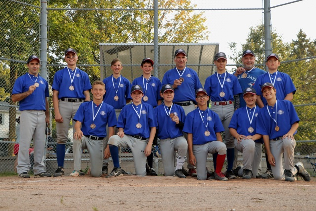 Bantam B Blue Jays Bronze Medalists